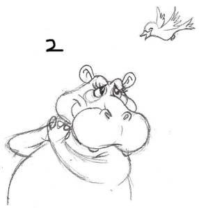 hippo02 rough draft sketch