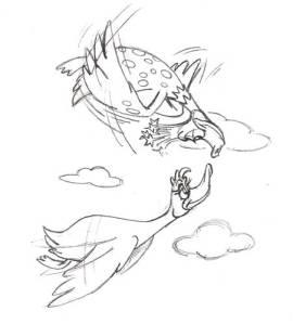 Duck Initial Sketch pg21_beaks