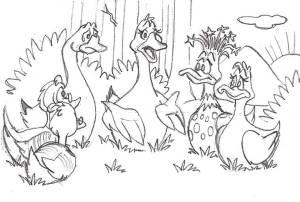 Duck Sketch pg26_huddle